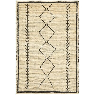 Tumu Handwoven Tribal Jute Rug, 155x225cm