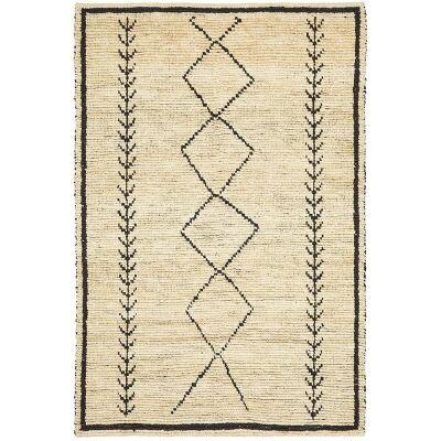 Tumu Handwoven Tribal Jute Rug, 190x280cm