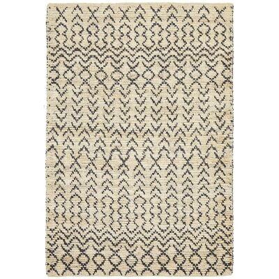 Elki Handwoven Tribal Jute Rug, 190x280cm