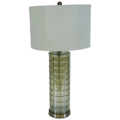 Luciana Glass Base Table Lamp