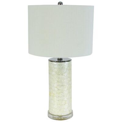 Imogen Capiz Shell Base Table Lamp