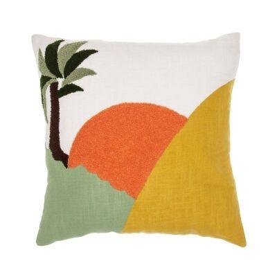 Sun Folk Cotton Scatter Cushion