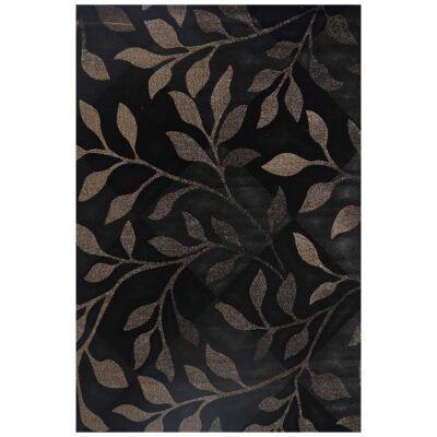 Seca Leaves Modern Rug, 80x150cm