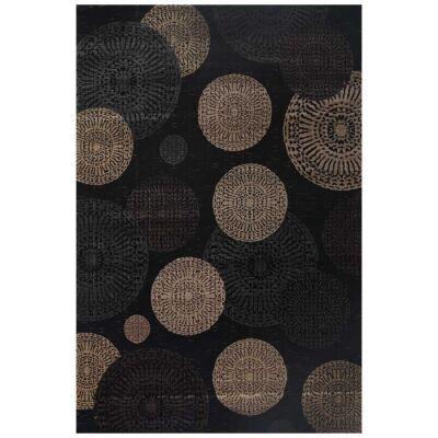 Seca Circles Modern Rug, 80x150cm