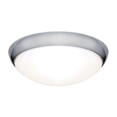 Lancer LED Oyster Light, 16W / 3000K, Chrome