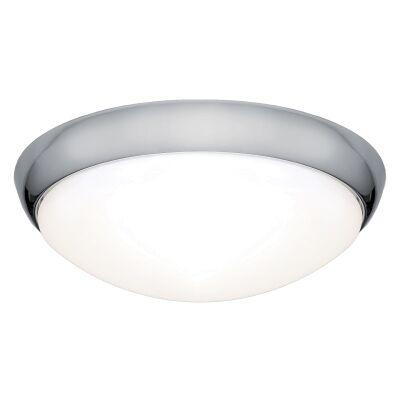 Lancer LED Oyster Light, 27W / 3000K, Chrome