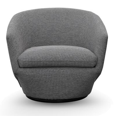 Mascot Fabric Lounge Armchair, Oslo Grey