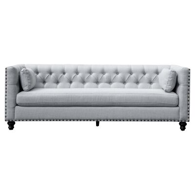 Berowra Fabric Sofa, 3 Seater, Light Grey