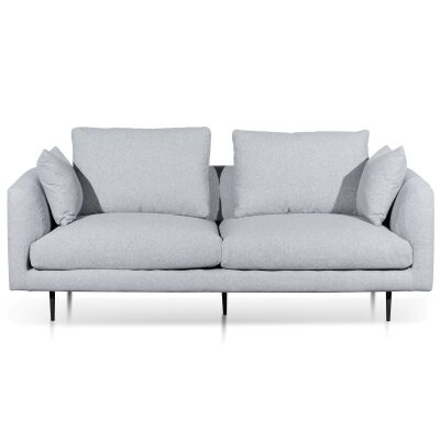 Shepherds Fabric Sofa, 3 Seater, Light Grey