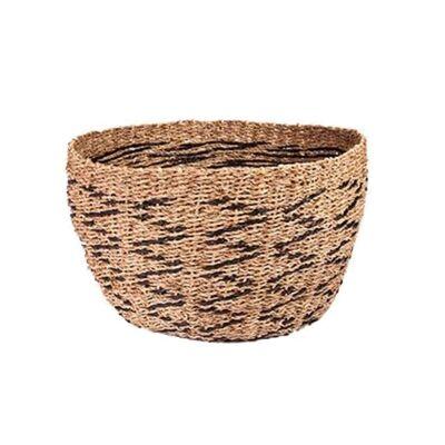 Lifou Woven Jute & Paper Twine Basket