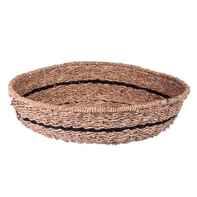 Lifou Woven Jute & Paper Twine Round Tray