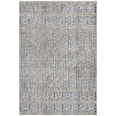 Levi Zorani Tribal Rug, 230x320cm, Navy / Grey