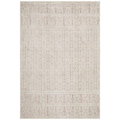 Levi Zorani Tribal Rug, 230x320cm, Peach / Ivory