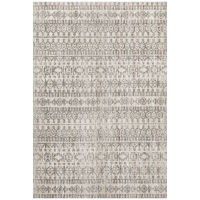 Levi Morgana Tribal Rug, 400x300cm, Grey / Natural