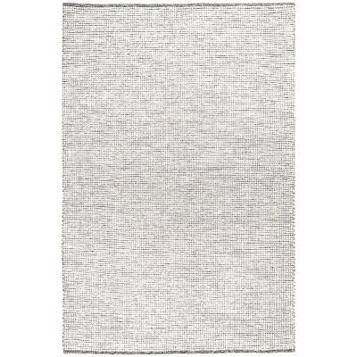 Loft Handwoven Felted Wool Rug, 230x320cm, Black