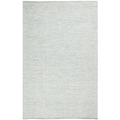 Loft Handwoven Felted Wool Rug, 115x165cm, Turquoise