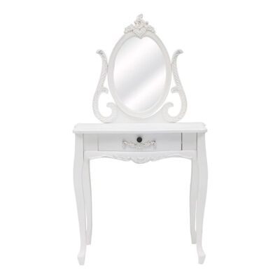 Garches Wooden Dressing Table with Mirror