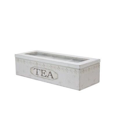 Wooden Tea Box in Green - Small