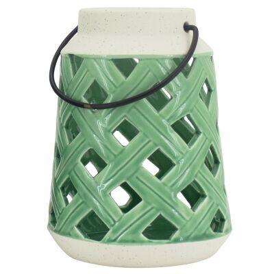 Lorri Ceramic Lantern, Small
