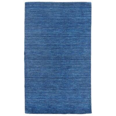 Lille Handwoven Wool Rug, 230x170cm, Denim