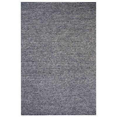 Bramston Braided Modern Wool Rug, 230x160cm, Ash Grey