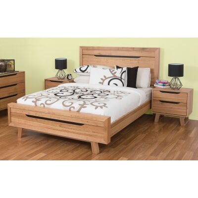Lismore Tasmanian Oak Timber Bed, Queen