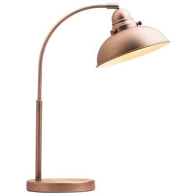 Manor Metal Desk Lamp, Antique Copper