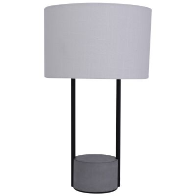 Maya Concrete Base Table Lamp