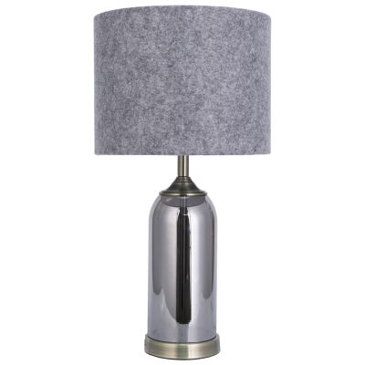Iris Glass Base Table Lamp