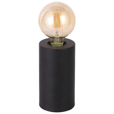 Marlo Metal Touch Table Lamp, Black