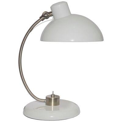 Penelope Metal Desk Lamp, Grey