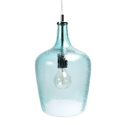 Marsha Glass Pendant Light, Blue