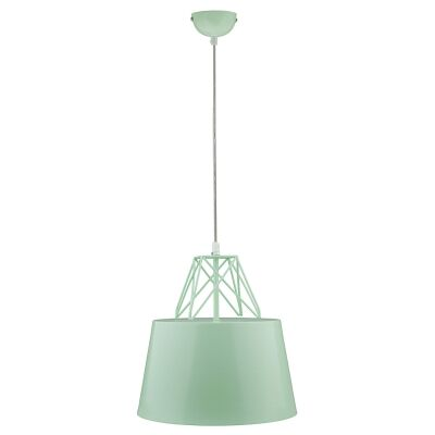 Kaelan Iron Pendant Light, Mint