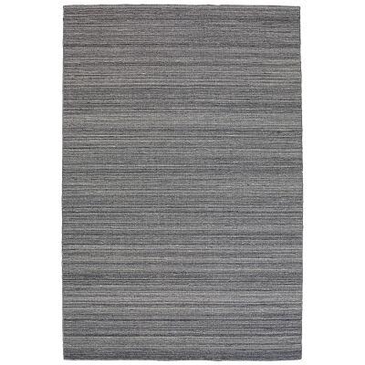 Loom Wool Rug, 290x200cm, Smoke