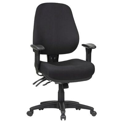 Logan Fabric Multi Shift Office Chair, Low Back