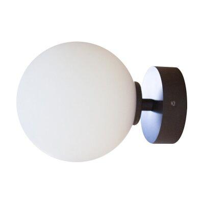 Orb Wall Light, 1 Light, Medium, Dark Bronze