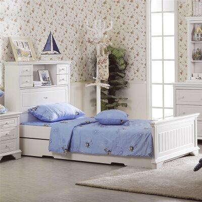 Edward Single Bed with Trundle