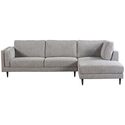Almsele Fabric Corner Sofa, 2 Seater with RHF Chaise