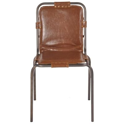 Stingray Commercial Grade Industrial Metal Dining Chair
