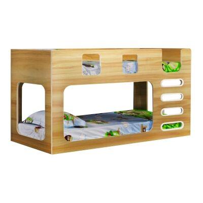 Parola Bunk Bed, Single, Oak