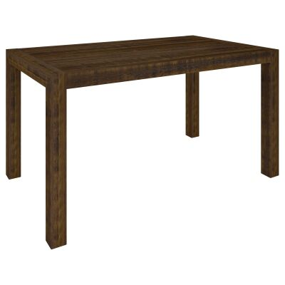Arcadia Solid Timber Bar Table, 180cm, Aged Walnut