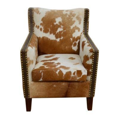 Hemingway Cowhide Armchair