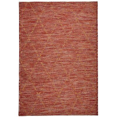 Magic No.301 Modern Tribal Indoor / Outdoor Rug, 330x240cm, Red