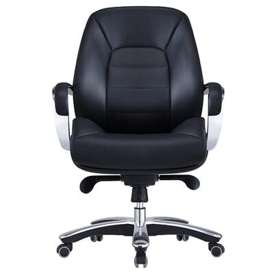 Magnum Leather Executive Office Chair, Low Back