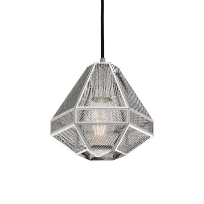 Magnus Metal Pendant Light, Small, Chrome
