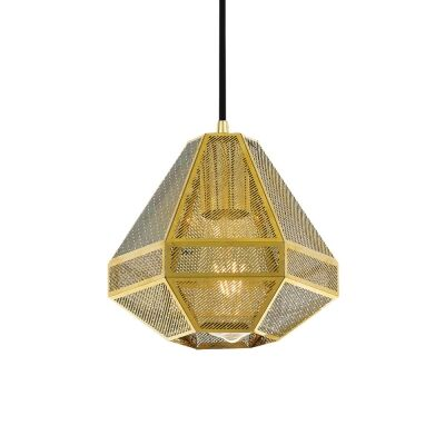 Magnus Metal Pendant Light, Small, Gold