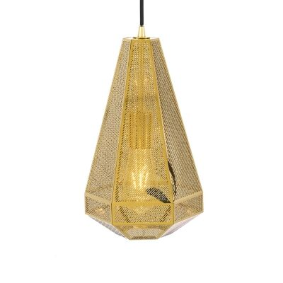 Magnus Metal Pendant Light, Large, Gold