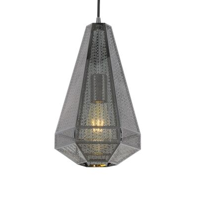 Magnus Metal Pendant Light, Large, Gunmetal