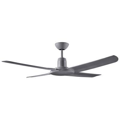 """Ventair Malibu IP55 Outdoor Ceiling Fan, 132cm/52"""", Titanium"""