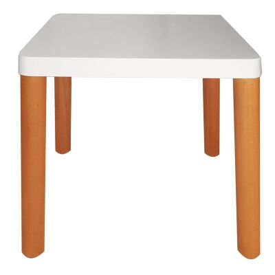 Malmo Wooden Square Lamp Table